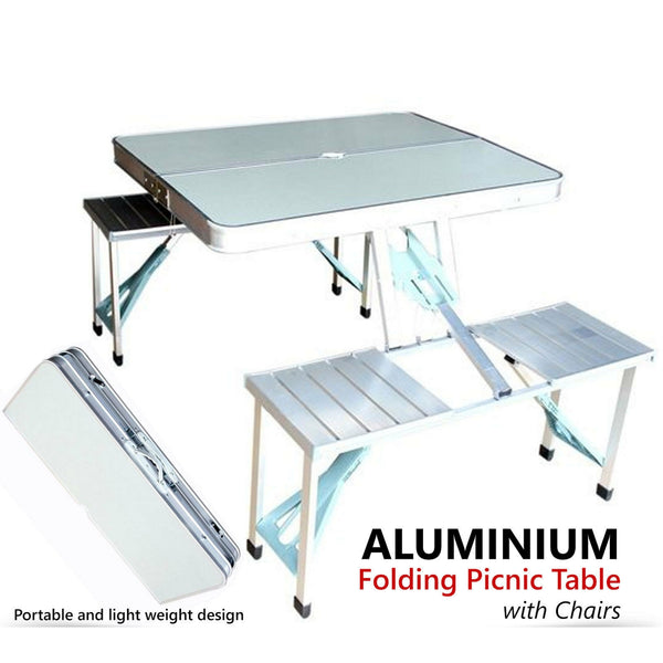 Aluminium Table Chair set