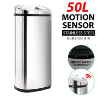 50L Motion Sensor Rubbish Bin