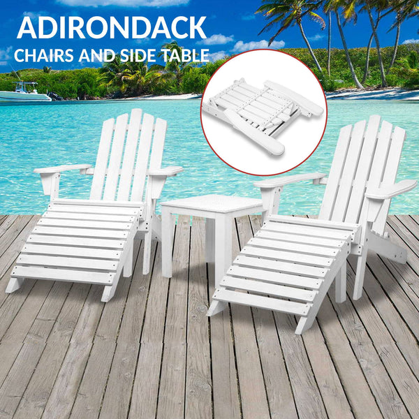 Adirondack Table and Chairs