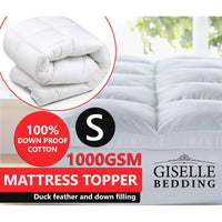 Duck Feather Mattress Topper