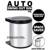 Automatic Swing Out Bin