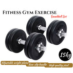 Steel Dumbbell Set