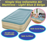 Single Size Inflatable Air Bed