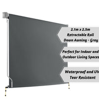 Retractable Roll Down Awning