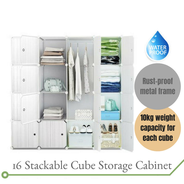 Stackable Storage Cabinet