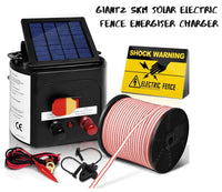 Solar Power Electric Fence Charger