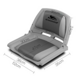 Grey/Charcoal Marine Boat Seat (Set of 2)