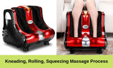 360° Calf & Foot Massager - Red