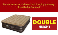 Air Mattress Double Height Queen Air Bed