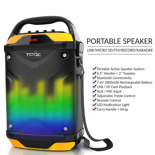 Portable LED Speaker