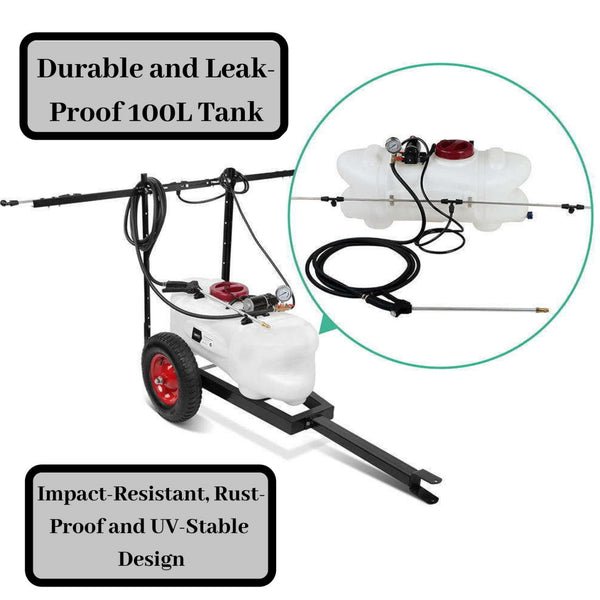 Weed Boom Sprayer