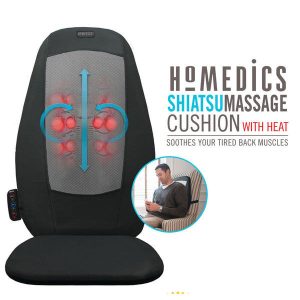 Shiatsu Back Massage Cushion