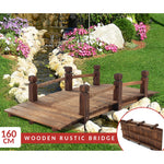 Wooden Rustic Bridge