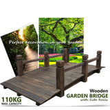 Wooden Garden Bridge