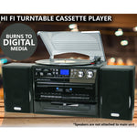 Turntable Cassette Player