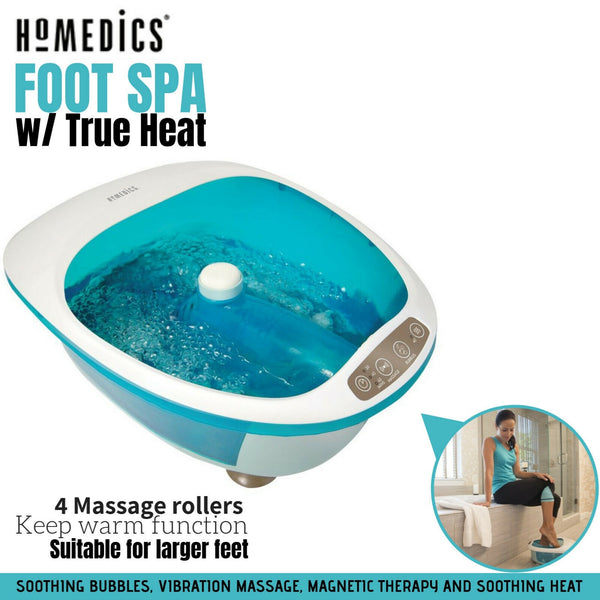 Foot Spa with True Heat