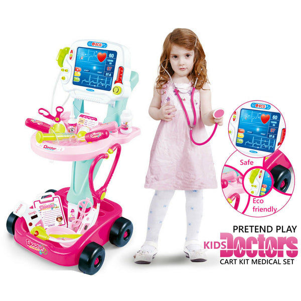 Kids Doctor Cart Kit