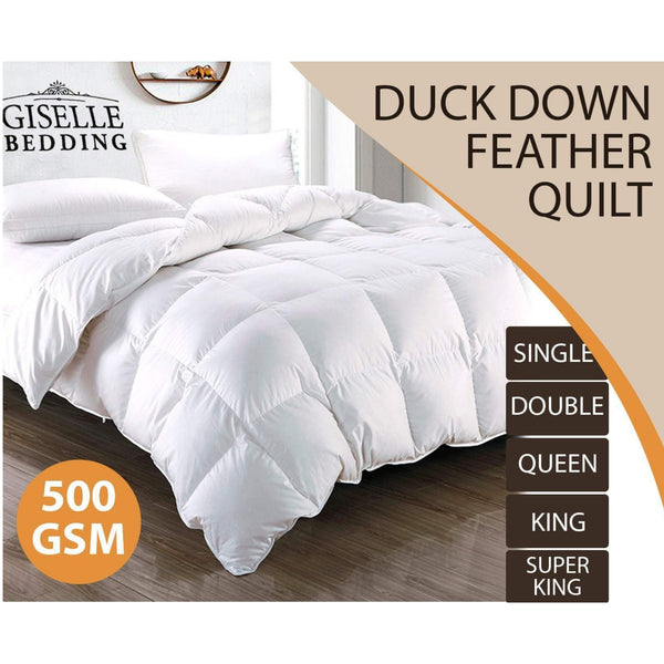 Duck Down Feather Quilt