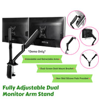 Dual Monitor Arm Stand