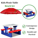 Childrens Outdoor Picnic Table