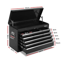 Giantz Garage 14 Drawers Tool Box Chest
