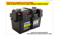 12V Portable Camping Travel Battery Box