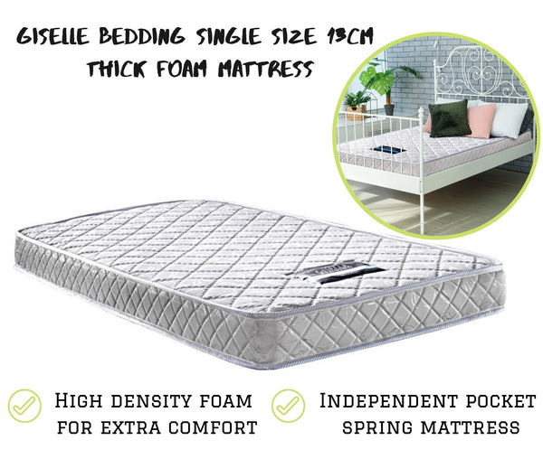 Single Size Bedding Mattress