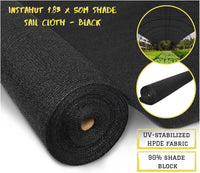 Shade Cloth Roll Black