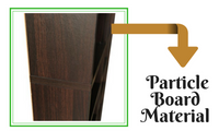 Particle Board Bookcase