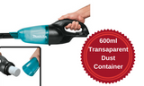 Makita Cordless Stick Vacuum Cleaner Skin (DCL180ZB)