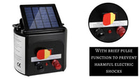 Solar Power Electric Fence Energiser