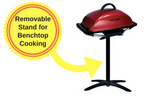 George Foreman BBQ Grill with Temperature Control