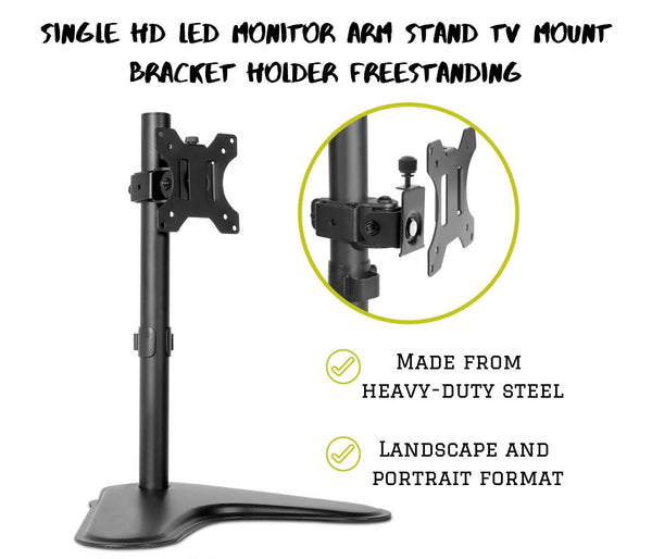 Single Monitor Arm Stand
