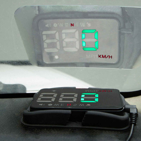 GPS Heads Up Display HUD Unit