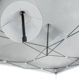 3X3M Pop Up Outdoor Gazebo - White