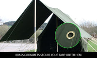 Heavy Duty Canvas Tarp Tarpaulin