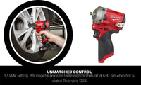 "12V 3/8"" FUEL Stubby Impact Wrench"