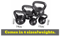Set of 5 Kettle Bell Exercise Kit