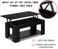 Lift Up Top Coffee Table