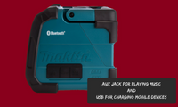 Makita Bluetooth Jobsite Speaker