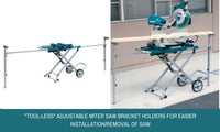Makita Mitre Saw Folding Stand Trolley