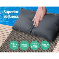 Outdoor Sun Lounge Sofa Set