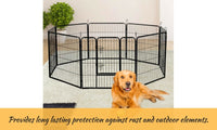 8 Panel Pet Dog Playpen