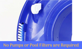 Swimming Pool Vacuum Leaf Eater Cleaner