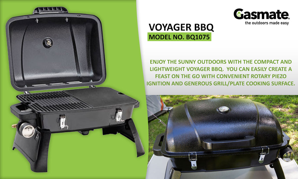 Gasmate Voyager Portable Gas Bbq Review gasmate voyager portable gas bbq grill