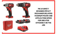 18V Cordless Impact Driver Combo Power Tool Set