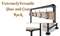 Shoe Rack and Coat Hanger Shelf