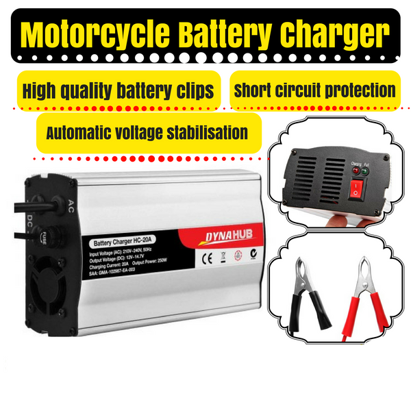 Motorcycle Automotive Boat Battery Charger
