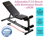 Adjustable F.I.D Bench