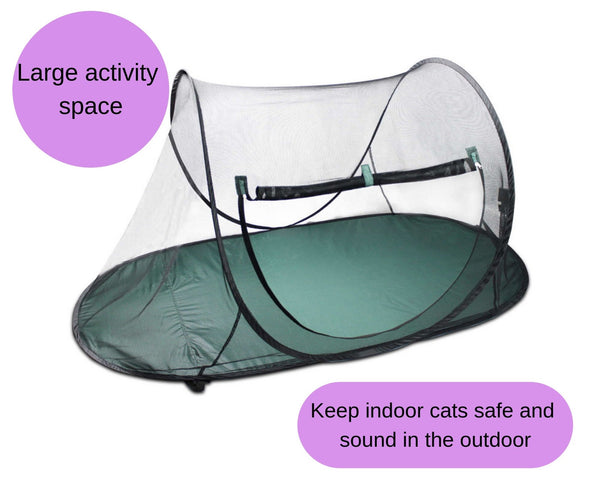 Portable Pet Soft Playpen Dog Cat Pop Out